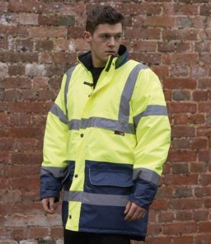 WR008 Warrior Denver Hi-Vis Jacket